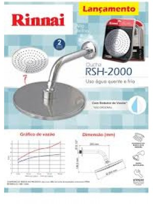 Ducha Rinnai RSH Modelo 2000
